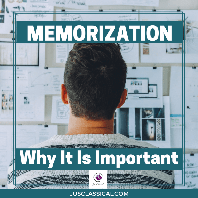Memorization: Why It Is Important and How It Is Mentally Liberating