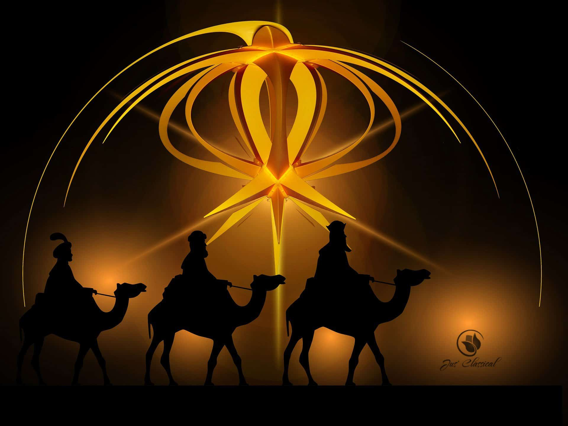 Treasuring Christ in our Christmas traditions: three wise men anticipating Christ's Advent
