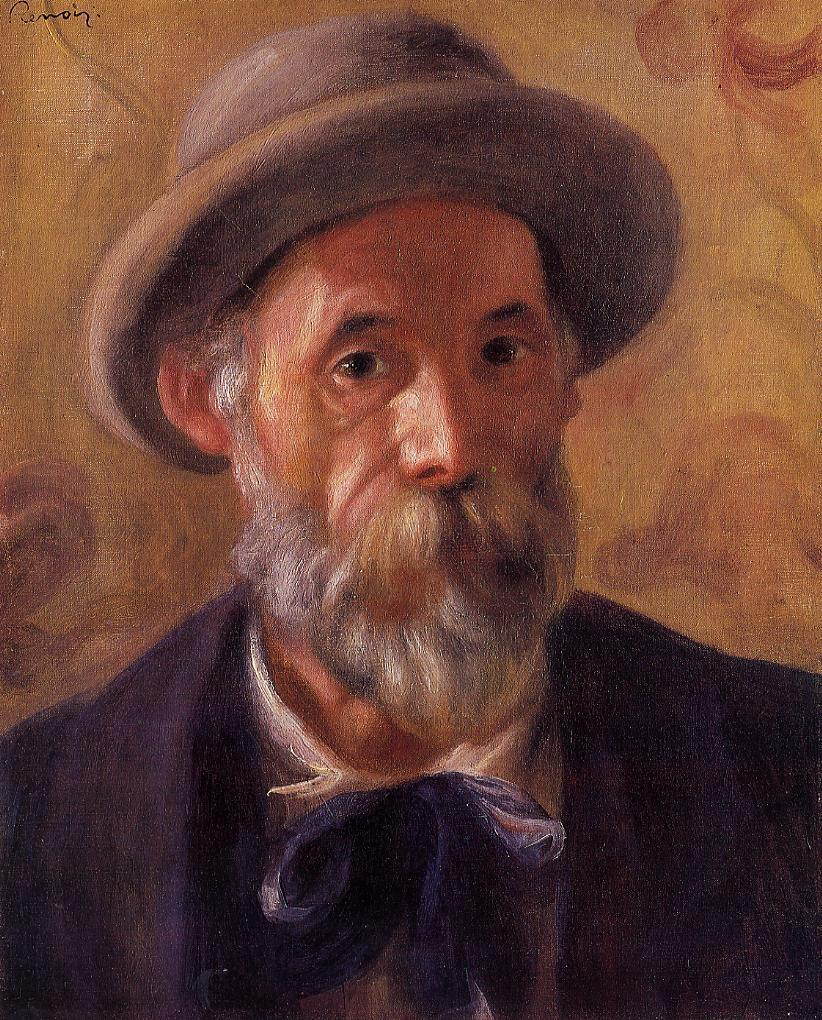 Self-Portrait by Pierre Auguste Renoir