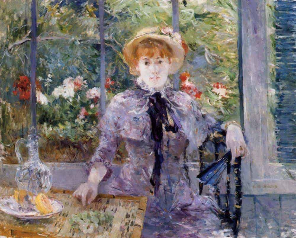 After Luncheon by Berthe Morisot