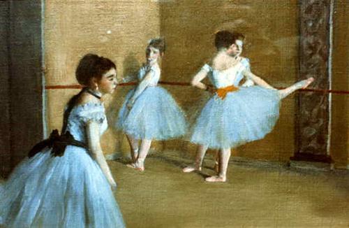 Dance Opera by Edgar Degas