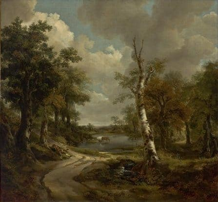 Drinkstone Park by Thomas Gainsborough