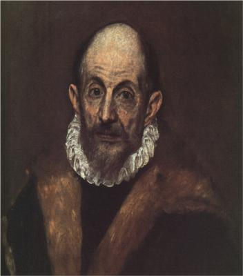 Portrait of an Old Man (Presumed Self-Portrait) by El Greco