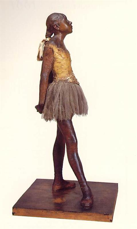 Fourteen-year-old Little Dancer by Edgar Degas