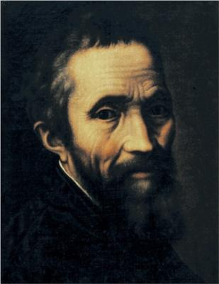 Portrait of Michelangelo by Marcello Venusti