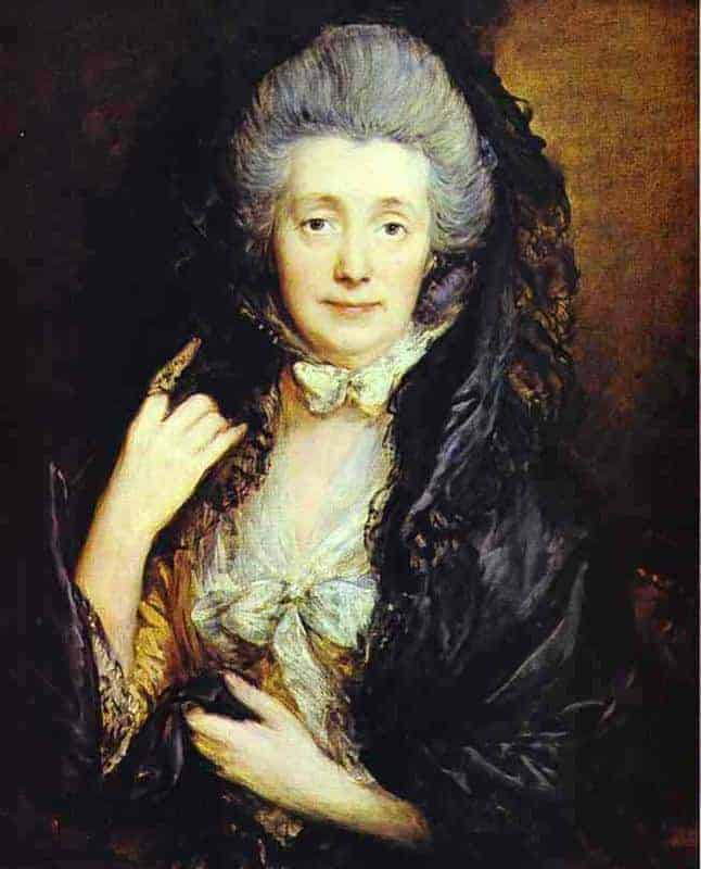 Nee Margaret Burr (Gainsborough's wife) by Thomas Gainsborough