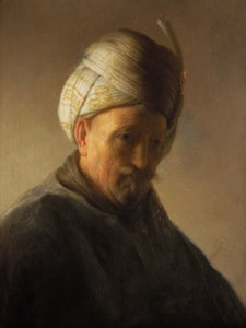 Old Man with a Turban