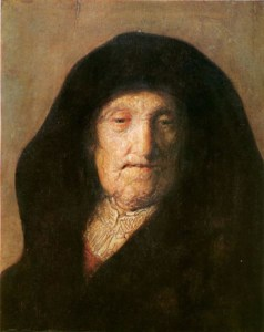 Portrait of Mother of Rembrandt