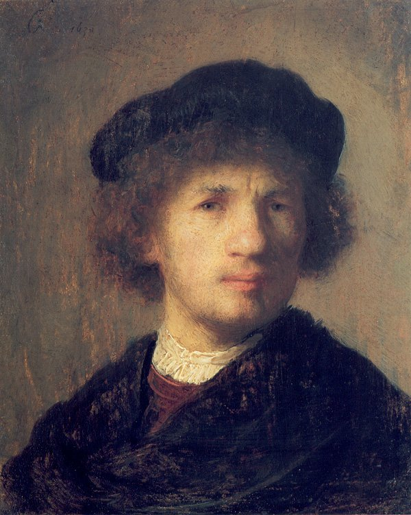 Self-Portrait 1630 by Rembrandt