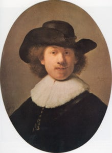 Rembrandt Self-Portrait 1632