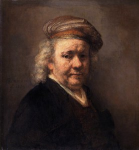 Rembrandt Self-Portrait 1669