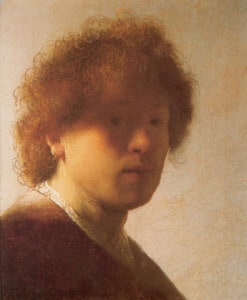 Rembrandt Self-Portrait 1628