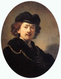 Rembrandt Self-Portrait 1633