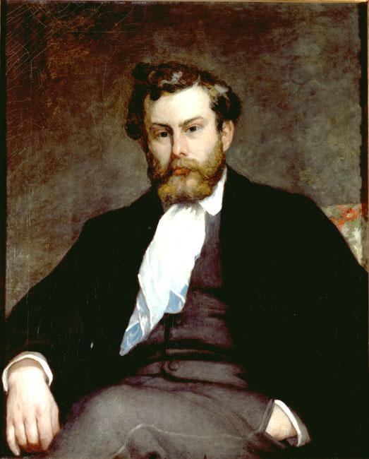The Painter Alfred Sisley by Pierre Auguste Renoir