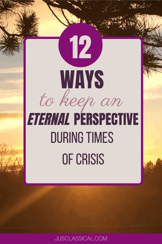 Eternal Perspective, Mindset in Trials, God-focused perspective