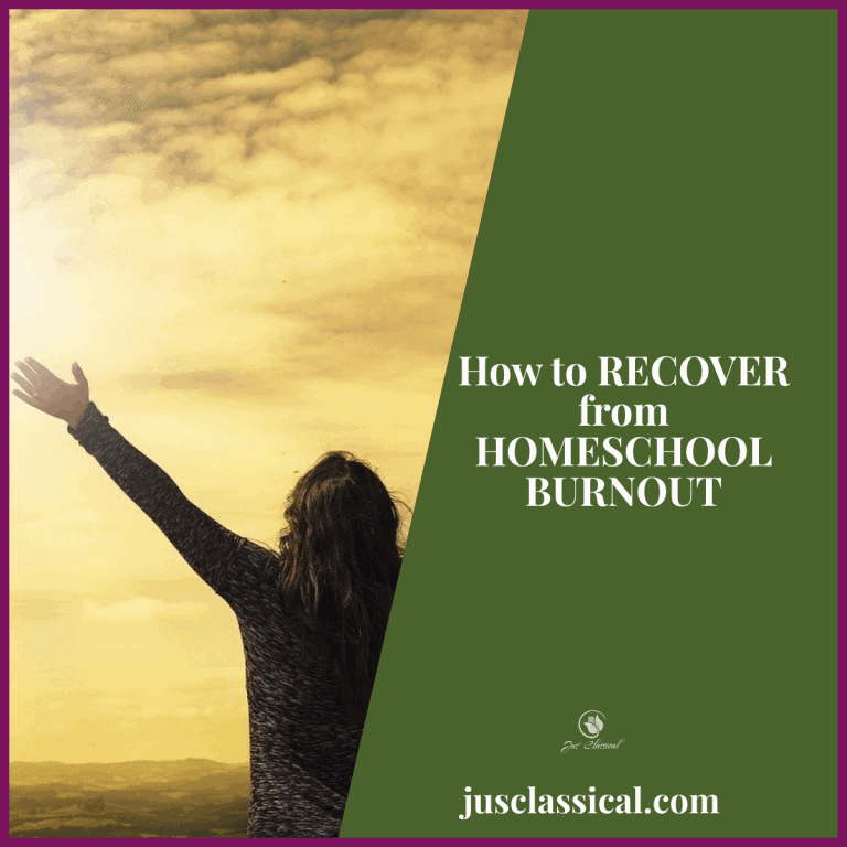 How to Recover from Homeschool Burnout
