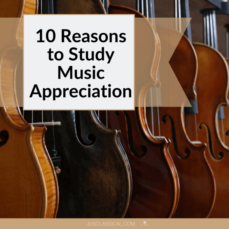 10 Reasons to Study the Orchestra, Composers and Music Appreciation