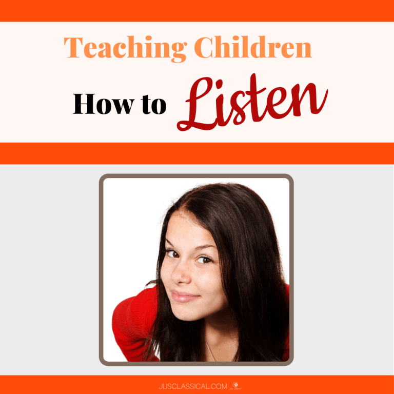 Teaching Children How to Listen