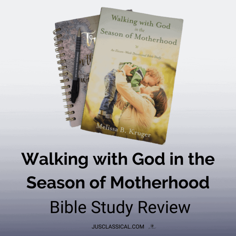 Walking with God in the Season of Motherhood: Bible Study Review